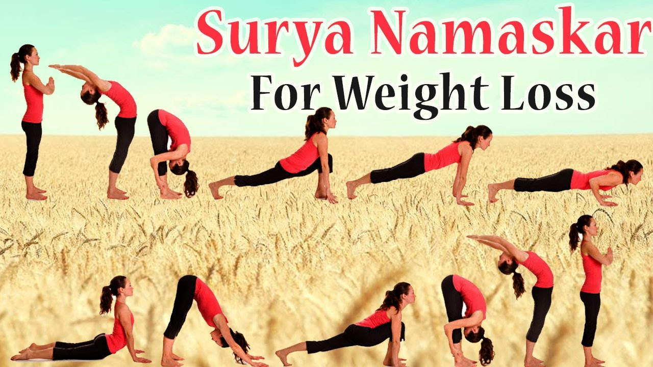 Surya Namaskar 12 Yoga Poses For Flat Stomach Amp Thighs