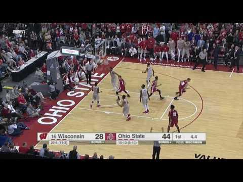 Koenig Breaks Wisconsin Three-Point Record