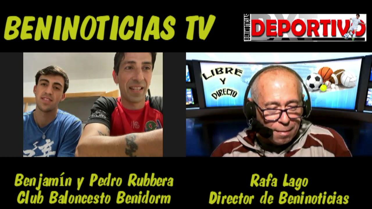 Entrevista a Pedro y Benjamín Rubbera. Padre e hijo coincidieron en un partido EBA