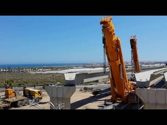 Obras del Puente de Las Losas