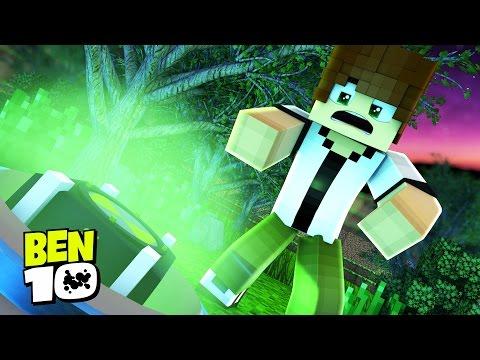 Minecraft BEN 10 : ENCONTREI O OMNITRIX !!!