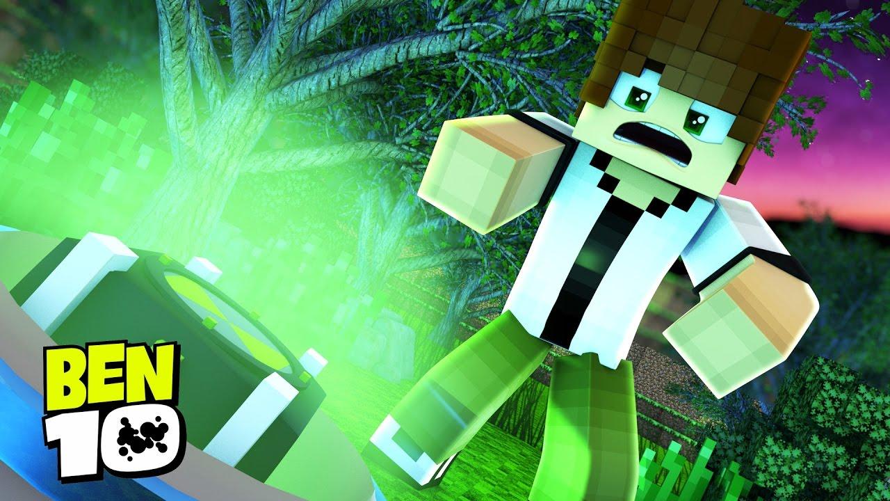 5ad3f8b4c3c Minecraft BEN 10   ENCONTREI O OMNITRIX !!!  01 ( Ben 10 In Minecraft) -  YouTube
