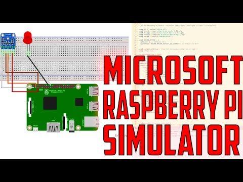 Microsoft Raspberry Pi Simulator - YouTube