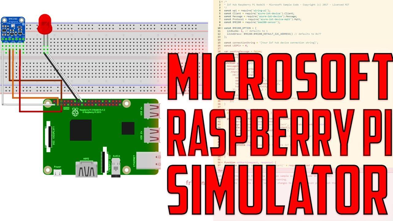 Microsoft Raspberry Pi Simulator