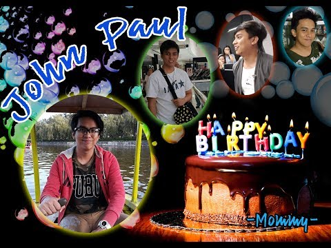 John Paul Samortin's Birthday