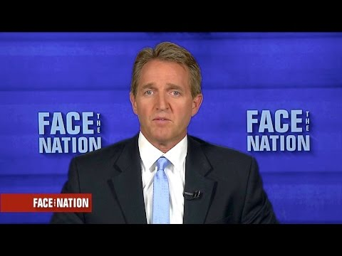 "Sen. Jeff Flake: Trump ""has to change"" to win the election"