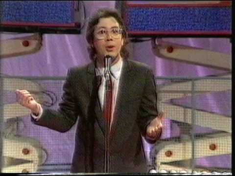 """Ben Elton On The Fit, The Unfit & The Ugly, """"Saturday Live"""", 1986."""