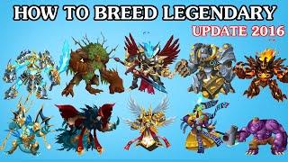 monster legends rare breeding guide