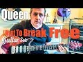 Queen - I Want To Break Free - Guitar Solo Lesson (Guitar Tab)