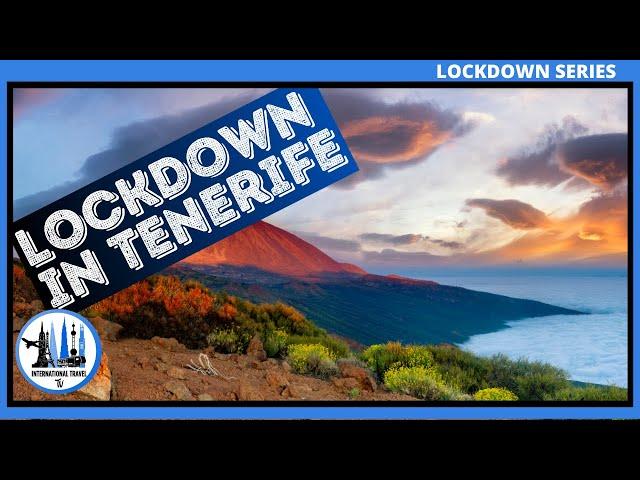 Lockdown in Tenerife Coronavirus interview. (covid-19)