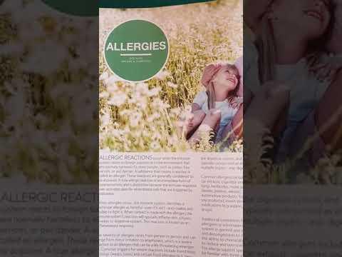 Allergies recipe doTerra oils