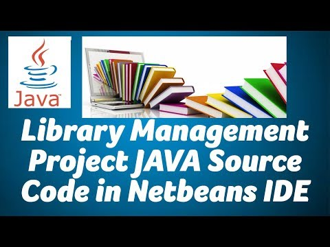 Free Library Management System project in Java,Mysql Source Code in Net Beans IDE