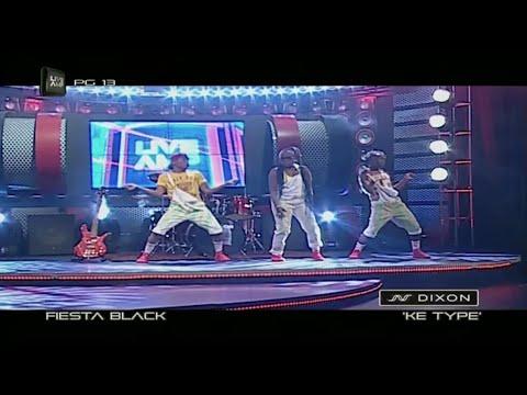 Fiesta Black - Ke Type (live)
