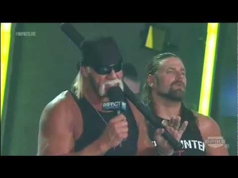 Impact Closing Segment (w/ Aries, TNA Roster & Aces & 8s) - 30/8/2012