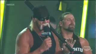Impact Closing Segment (w/ Aries, TNA Roster & Aces & 8s) - 30/8/2012