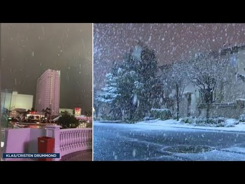 Paul - Las Vegas Gets Rare Snow