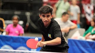 Baixar 2018 US National Table Tennis Championships - Day 2 (Singles Quarter and Semifinals) - Table 2