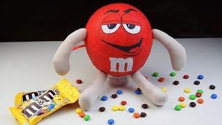 киндер M&M's с подарком внутри своими руками!