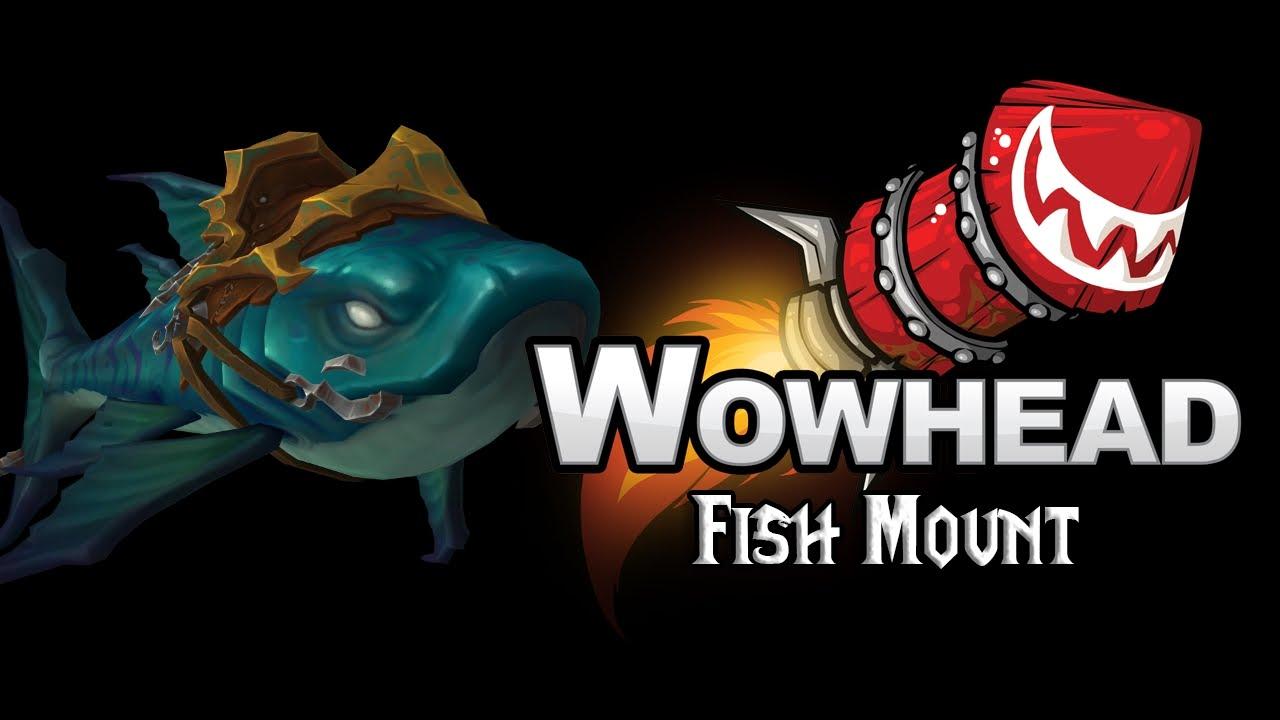 Fish Mount   Brinedeep Bottom Feeder   YouTube