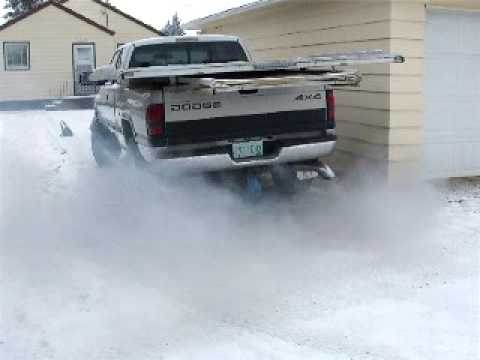 Dodge Diesel Cold Start in Saskatchewan