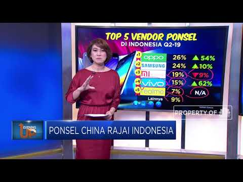 Ponsel China Rajai Indonesia