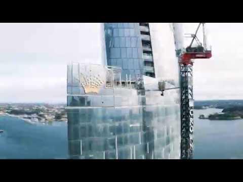 One Barangaroo Construction - May 2020