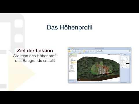 Tutorial von Edificius - Das Höhenprofil - ACCA software thumbnail