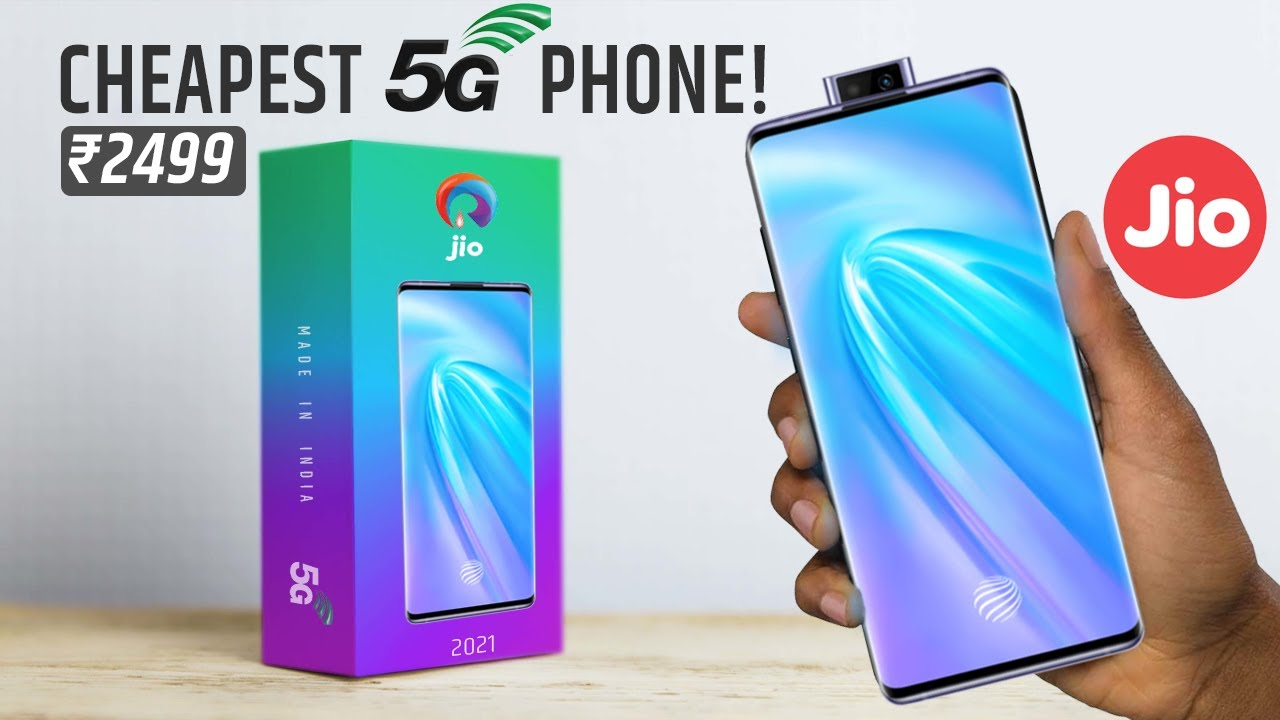 Finally! Jio Phone 5G, First Look, Camera, Low Price Smartphone 2021