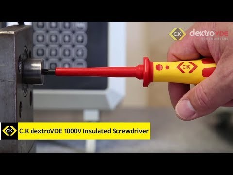 C.K dextroVDE 1000V Insulated Screwdriver