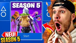 FORTNITE SEASON 5 GELEAKED..!!