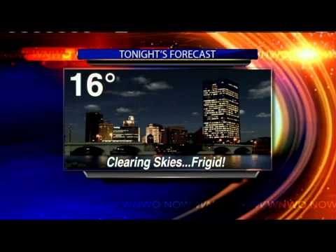 Arctic air mass remains locked on top of us for Sunday