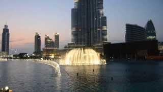Dubai Fountain - Kiri Te Kanawa:
