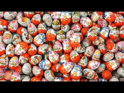 300 Киндер Сюрпризов! Супер Выпуск Kinder Surprise Eggs Маша и Медведь Черепашки Ниндзя Зверополис