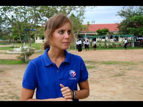 អាលីន៖«បើសិនខ្ញុំជាស្ពានវប្បធម៌រវាងអាមេរិក និងកម្ពុជា...»-Allyn Wong Peace Corps(ThmeyThmey)
