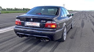 950HP BMW M5 E39 w/ Supercharger! 1/2 Mile Drag Race Accelerations