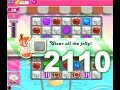 Candy Crush Saga Level 2110 (3 Stars, No boosters)