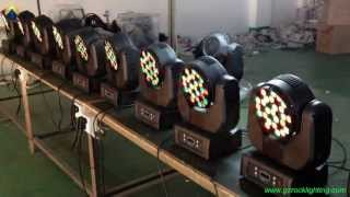 CREE Beam moving head 37*3W perfect for mobile DJ,event,concert,club & disco