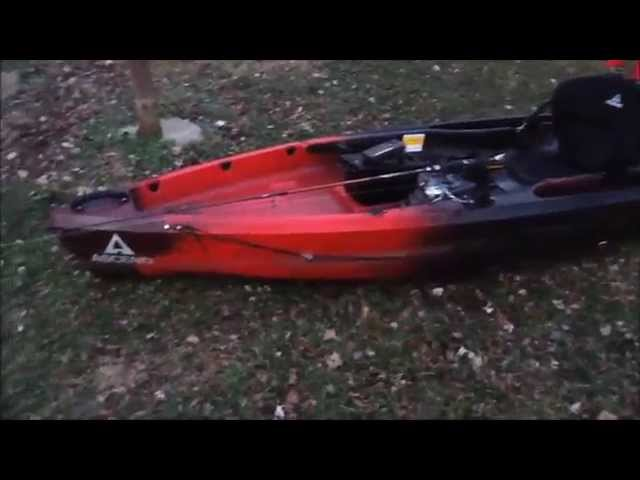 Kayak Ascend D10T Rigging and Review