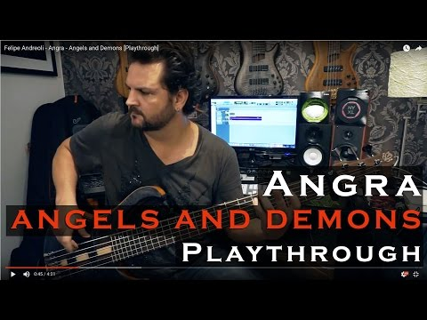 Felipe Andreoli - Angels and Demons - Angra [Playthrough]