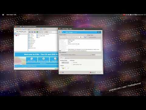 Ubuntu ISO image brennen mit K3b