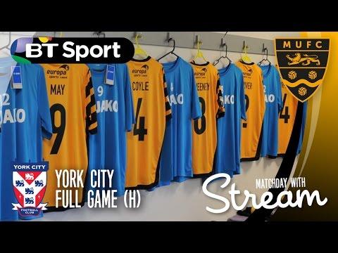 Maidstone United Vs York City (06/08/16) FULL GAME