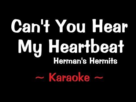 Cant You Hear My Heartbeat - Karaoke