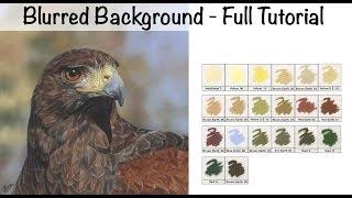 [36.74 MB] Blurred or Bokeh Background in Pastel - Full Tutorial