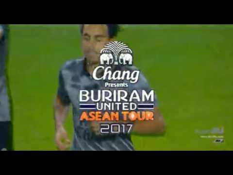 JDT VS BURIRAM UNITED  Full Length -  International Friendly Match 2017