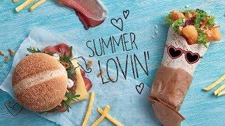 Schwarzwald burger a Krevetový McWrap od MCDONALD'S!