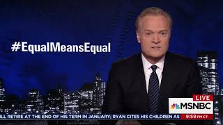 Equal Means Equal on Lawrence O'Donnell