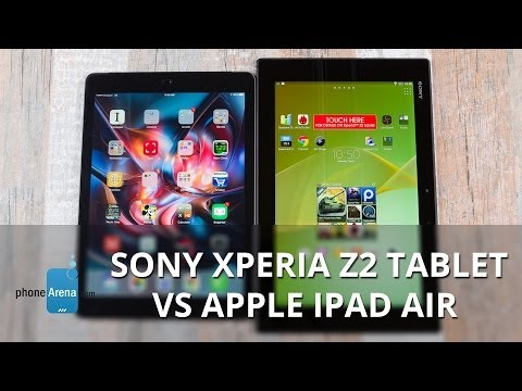 Sony Xperia Z2 Tablet vs Apple iPad Air