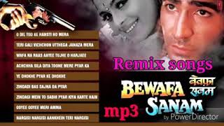 Bewafa Sanam all songs remix MP3 album Bewafa Sanam