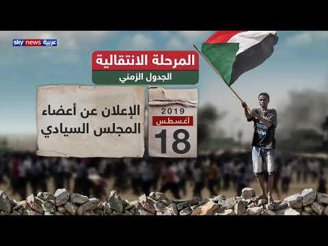 الجدول الزمني للمرحلة الانتقالية في السودان  - نشر قبل 6 ساعة