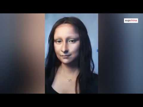 Watch this Chinese makeup artist transform herself into the Mona Lisa
